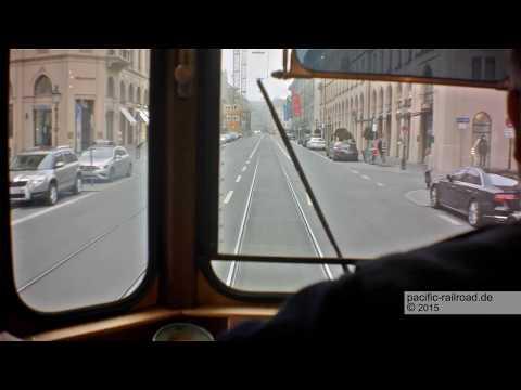 Mit dem Tram D-Wagen von 1911 durch München