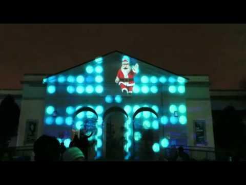 Brookfield Zoo Christmas Light Show 2014