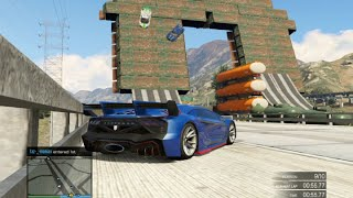 GTA 5 Hot Wheels Wall Drifting Stunt Race