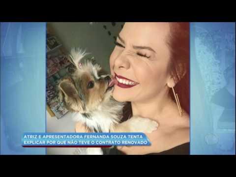 Hora da Venenosa: Fernanda Souza tenta explicar por que não teve contrato renovado com emissora