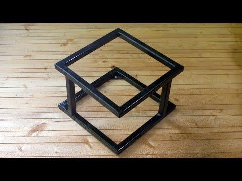MIG Welding Project Useful DIY Shelf An Industrial Style