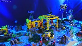 LEGO City Deep Sea Exploration scene - ALL 2015 sets!
