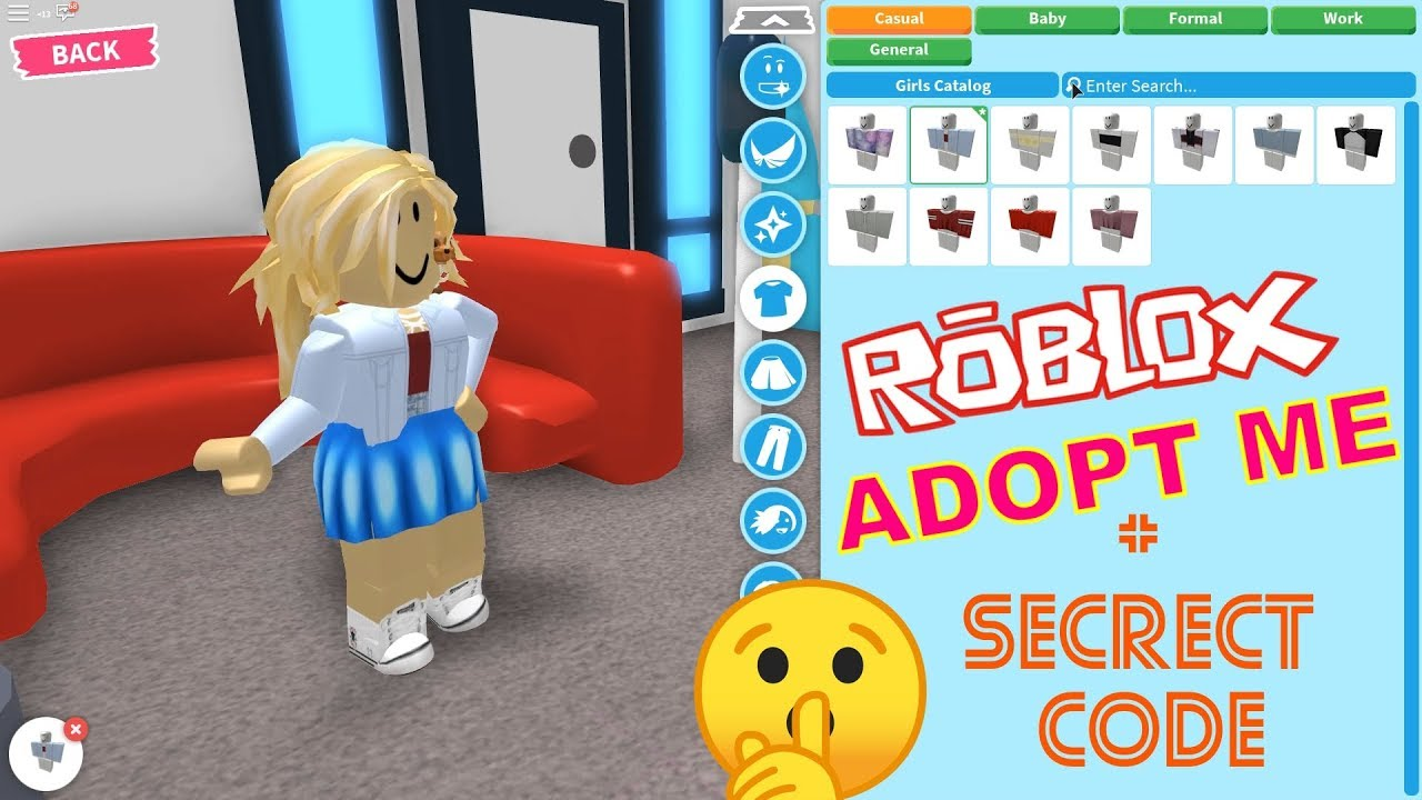 Roblox Adopt Me Dress Up Update Secret Adopt Me Code Youtube