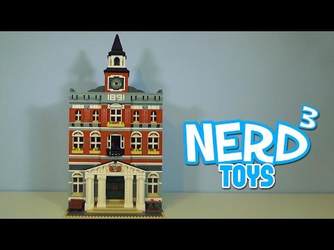 Nerd³'s Lego - Town Hall - 10224