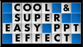 Cool and Super Easy PowerPoint Animation Effect Tutorial - How to Spin and Flip Objects
