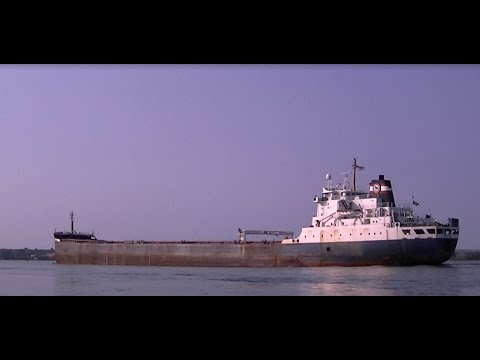 Tim S. Dool Great Lakes Freighter Algoma Central Corporation Sault Michigan