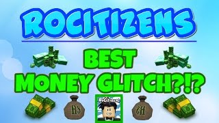 Rocitizens: MONEY GLITCH 6.0! [WORKING] [October 2016] (Roblox) EARN 1 MIL IN SECONDS!!!