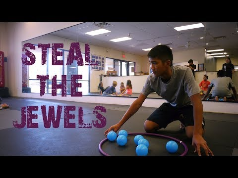 Fun Summer Camp Games - Steal The Jewels