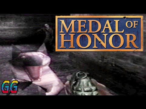 PS1 Medal Of Honor 1999 PLAYTHROUGH (100%)