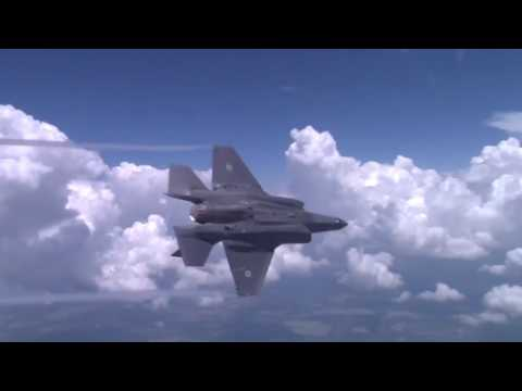 "Israeli Air Force F-35 ""Adir"" Maiden Flight"