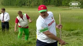 Лукашенко и Депардье косят