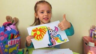 Download Маркер Челлендж КАК Я РИСУЮ Пони My Little Pony Видео для детей Marker Challenge Mp3 and Videos