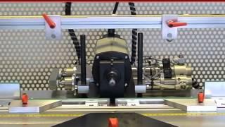 Hoffmann PU2-VH Dovetail Routing Machine