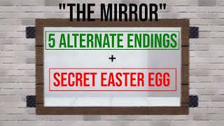 [Roblox] The Mirror All Endings + Secrets!