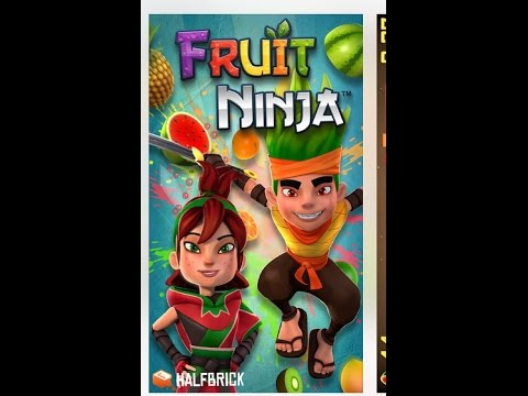 Fruit Ninja Gameplay / Iphone / IOS/ (Paid)