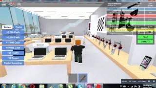 enseñando my tienda apple (ROBLOX)