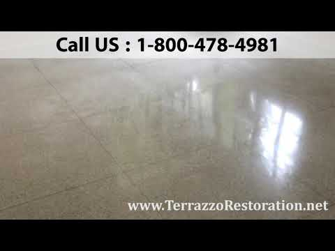 Polished Terrazzo Floor Services in West Palm Beach