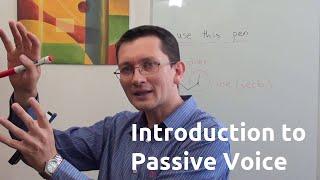 Введение в пассивный залог (passive voice) английского языка
