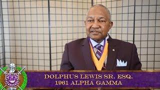 Dr. Dolphus E. Lewis Sr. Esq.
