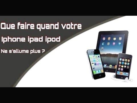 Iphone  Ne S Allume Plus Apres Changement Ecran