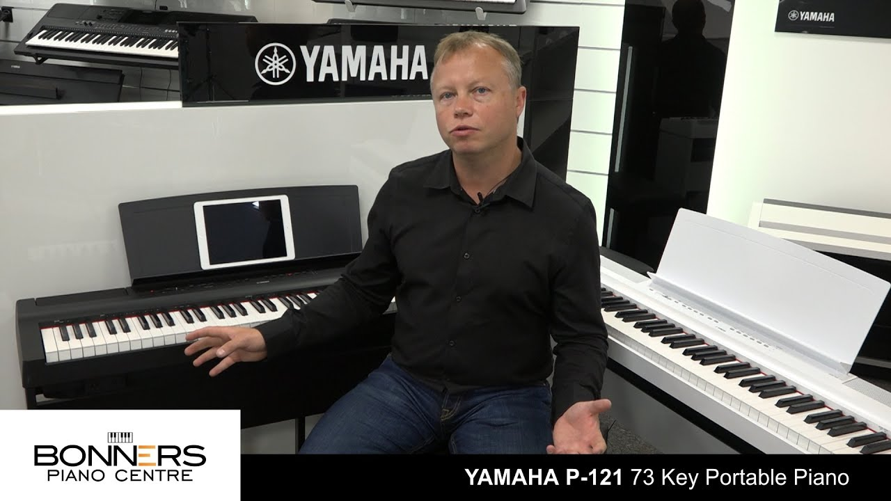 yamaha p121 6 octave portable piano uk buyers guide review youtube. Black Bedroom Furniture Sets. Home Design Ideas