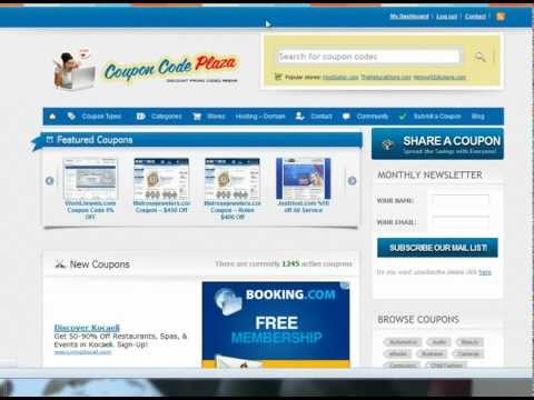 How To Submit A Coupon On CouponCodePlaza.com!