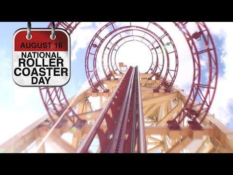 Happy National Roller Coaster Day!