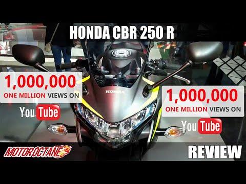 Honda CBR 250 R Review in Hindi | Auto Expo 2018 | MotorOctane