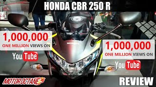 Honda CBR 250 R Review in Hindi | Auto Expo 2018 | MotorOctane
