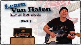 How to Play - Van Halen Rhythm - Best of Both Worlds - Guitar Lesson - GuitarBreakdown - Part 1