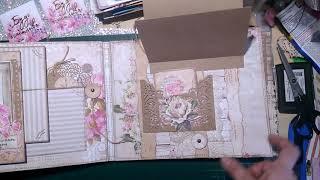 �������� ���� Скрапбукинг - обзор винтажного альбома и планер..... Всё в первый раз!!!! ������