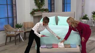Home Reflections 2000TC Easy Care Cooling Sheet Set on QVC