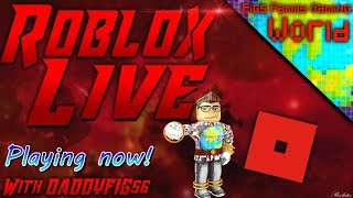 Roblox Wednesdays! | Live Stream #40| Roblox | Playing with Viewers! Figster Coin Exchange!
