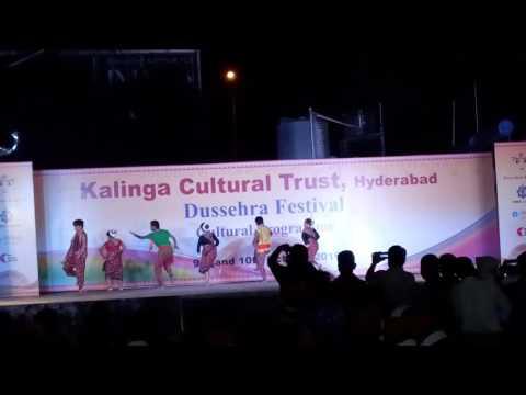 Cultural programs by Kalinga cultural trust Hyderabad at Jagannath mandir Banjara hill