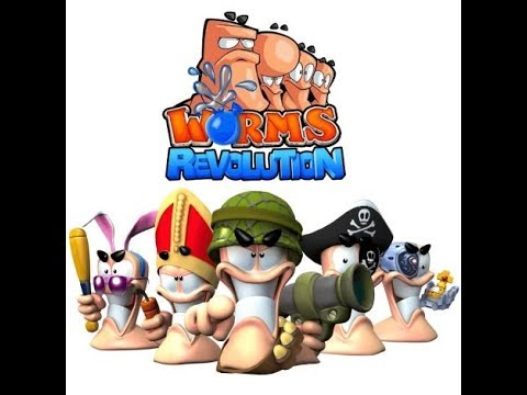 """Worms revolution : Match a mort version  COMMENTAIRE """"sportif"""""""