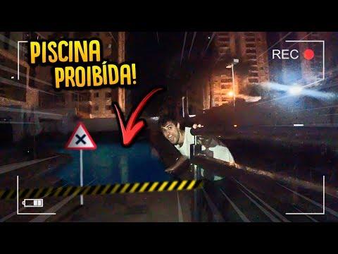 INVADI A PISCINA DO MEU PRÉDIO DE MADRUGADA ( 3:00 DA MANHÃ!! ) [ REZENDE EVIL ]