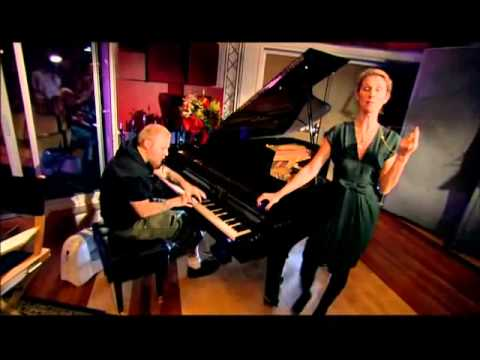 Celine sings opera with Ben Moody   (Alone Recording Session)