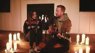 Julia Michaels & JP Saxe - If The World Was Ending (acoustic) from home
