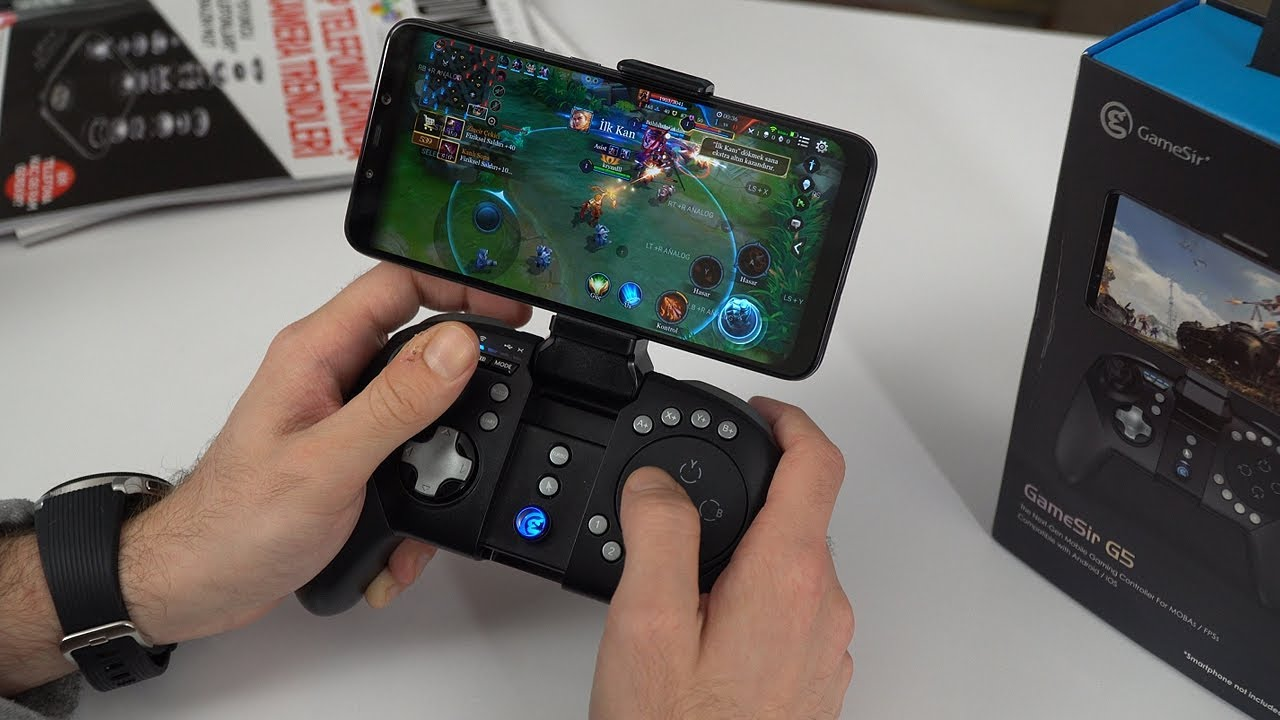 Mobilde Moba Ve Fps Oyunlari Oynamak Icin Oyun Kolu Gamesir G5 Inceleme Youtube
