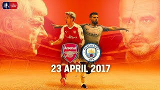 Arsenal 2-1 Manchester City (AET) | Full Match | Semi-Final | Emirates FA Cup 16/17