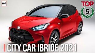 TOP 5 CITY CAR IBRIDE 2021
