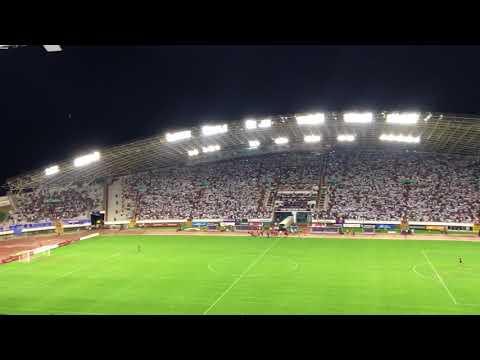 HAJDUK V EVERTON 24.8.2017-DALMACIJO-32 000 Croatians sing Dalmacijo at stadion Poljud