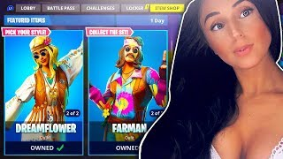 NEW BIKER SKINS IN FORTNITE!!! LATE NIGHT FORTNITE GRIND!!!