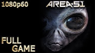 Area 51 (PC) - Full Game 1080p60 HD Walkthrough - No Commentary