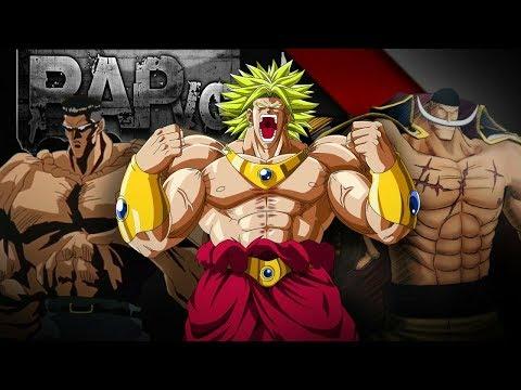 Rap dos Monstros | Barba Branca, Toguro & Broly | VG Beats ft. All Place Br & Takeru