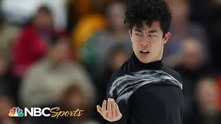 Nathan Chen leads World Championships after short program I NBC Sports
