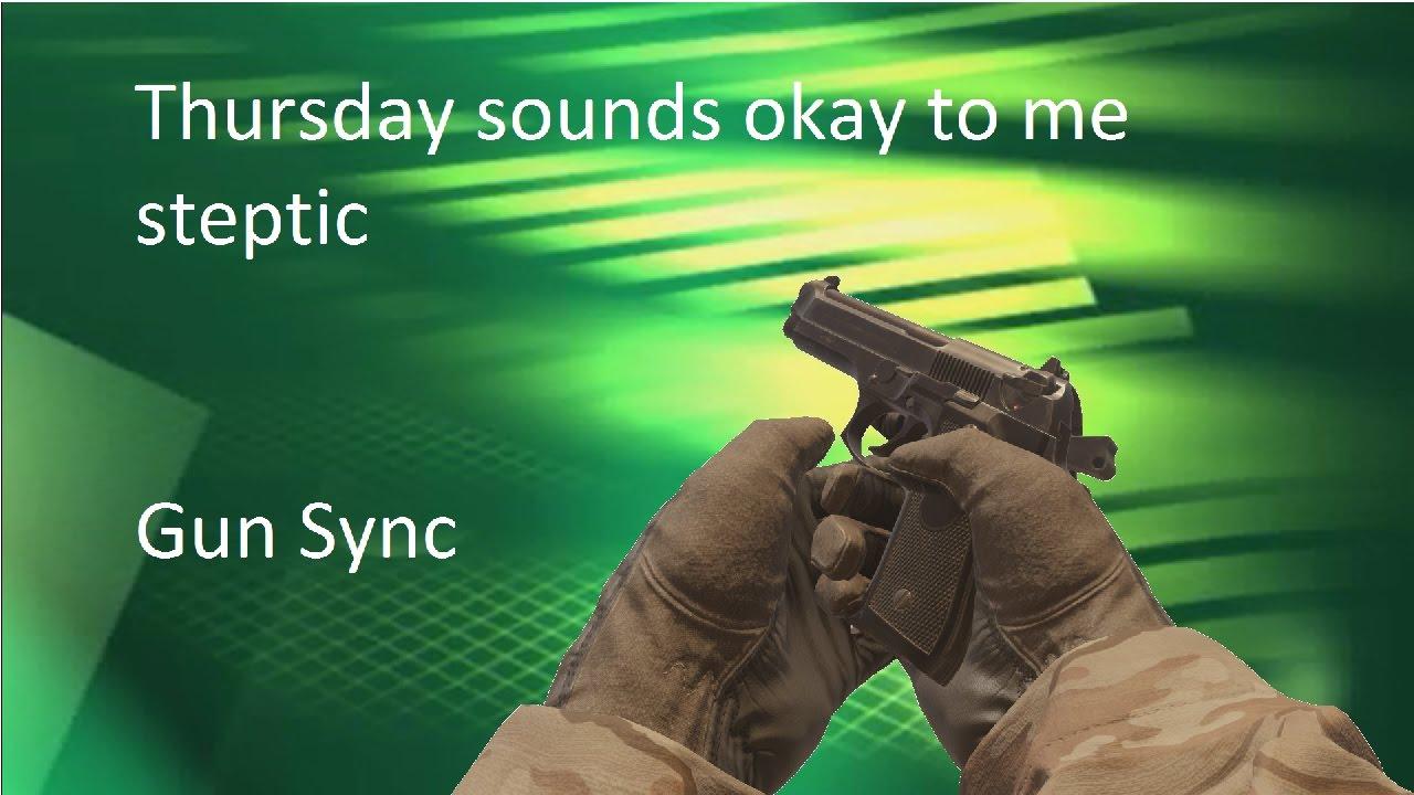#Modern Warfare Remastered Gun Sync - Thursday sounds okay to me