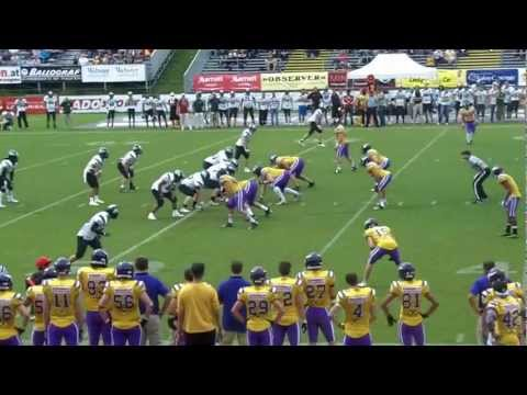 Raiffeisen Vikings vs. Danube Dragons 48:32 Game Video - 15.7.2012