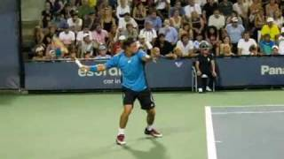 Keypoint in forehand Federer, Nadal and other pro