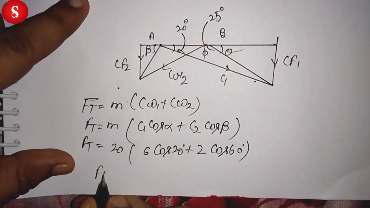 how to make the diagram of velocity triangle of impulse turbine suggested video in hindi [ 1280 x 720 Pixel ]